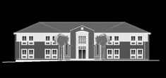 CAD Building templates - Institutional buildings