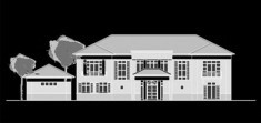 CAD Building templates - Residential buildings