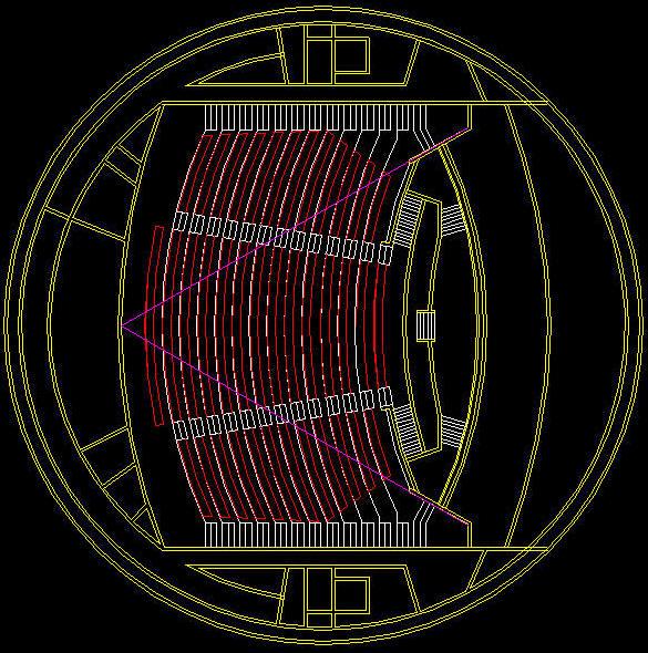 CAD BUILDING TEMPLATE : IMAX THEATRE
