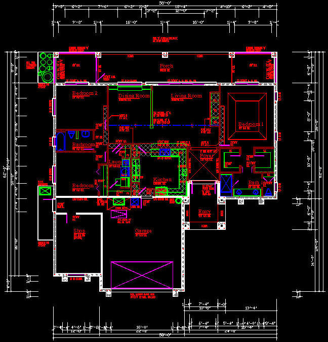 cad building template us house plans house type 1