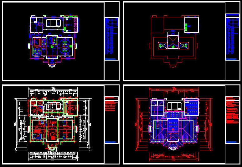 CAD BUILDING TEMPLATE : US HOUSE PLANS