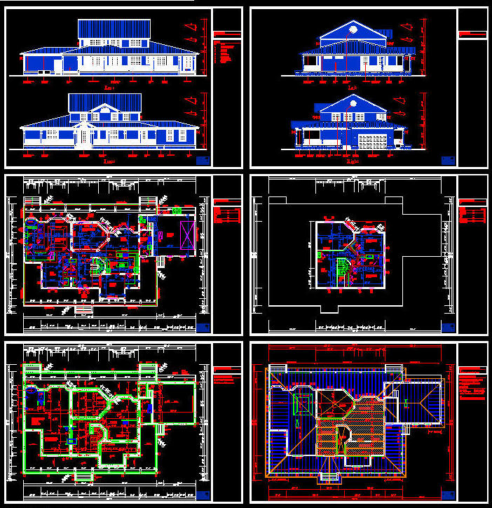 Cad building template us house plans house type 15 for House plan cad file