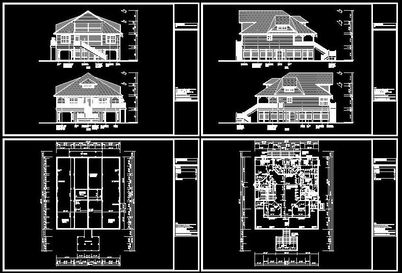 Cad building template us house plans house type 27 for Building plans in autocad format