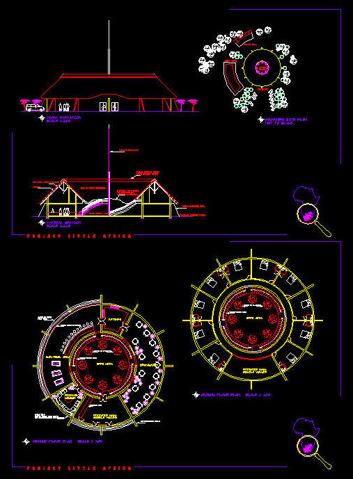 Cad Building Template Hotel Youth Hostel Backpackers