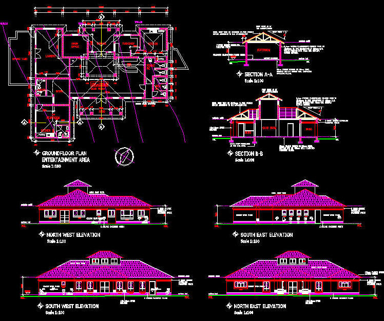 Clubhouse Cad Building Template