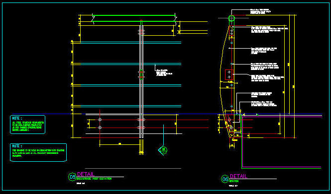 Cad Details Handrail Balustrade Stainless Steel