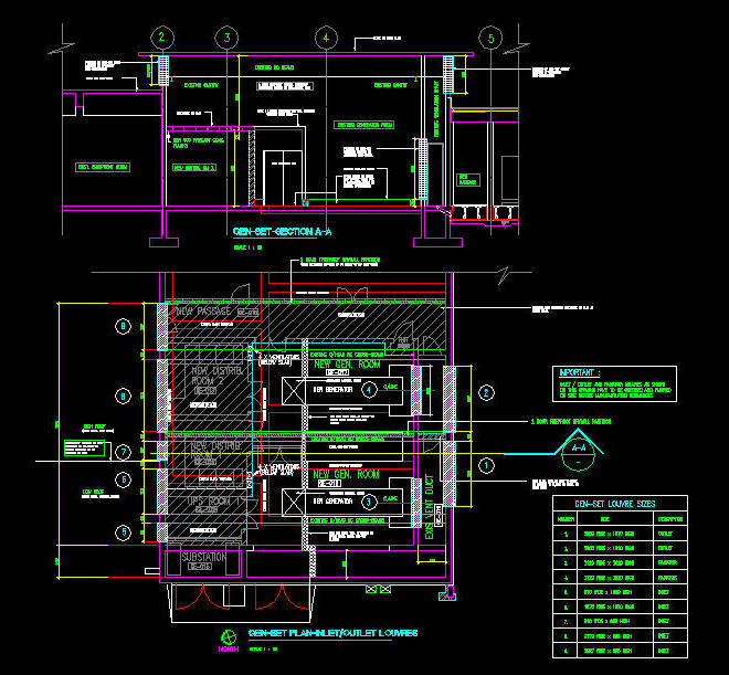 Cad Drawing Generator Room 1