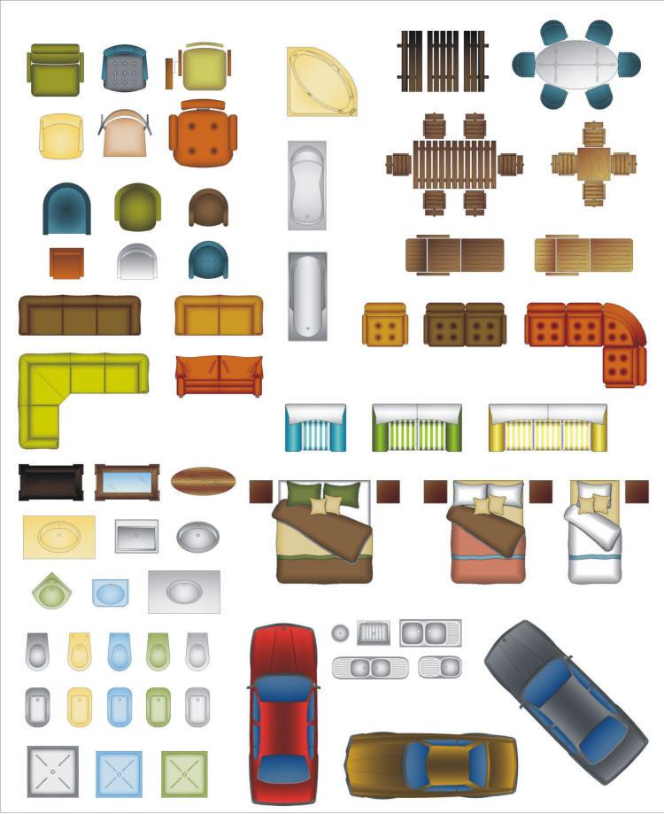 Cad Color Blocks Cad Architect